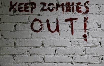 Tekst op de muur - Escape Room Elst
